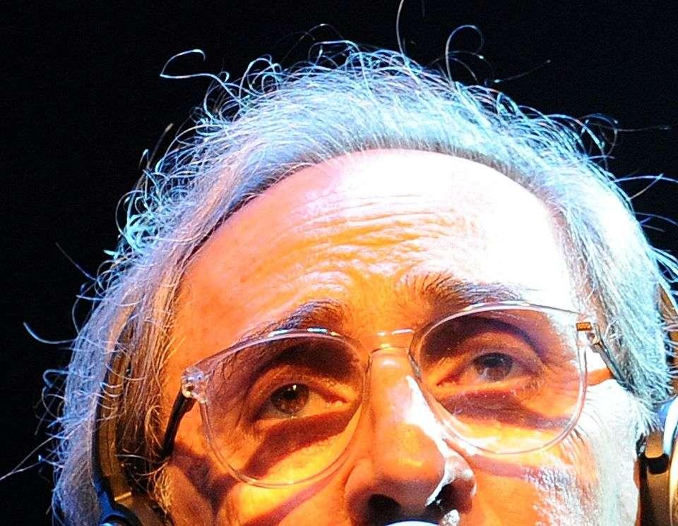 Giuseppe Bellini via Getty Images Franco Battiato ad Ascoli Piceno nel 2011
