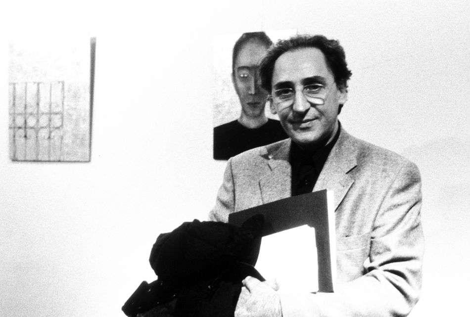 Leonardo Cendamo Leonardo Cendamo Franco Battiato a Milano nel 1994